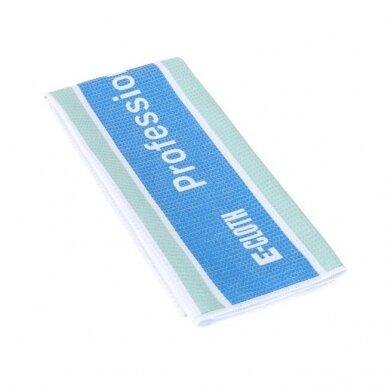 E-cloth profesionalus stiklo rankšluostis 2