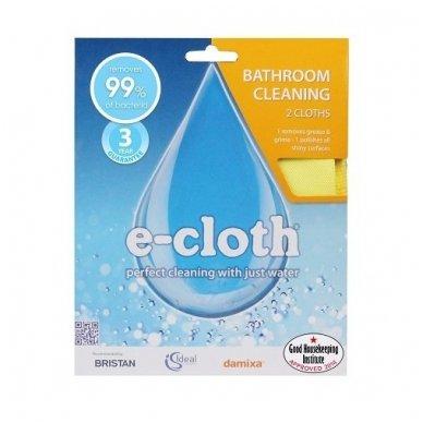 E-cloth šluosčių rinkinys voniai, 2 vnt.