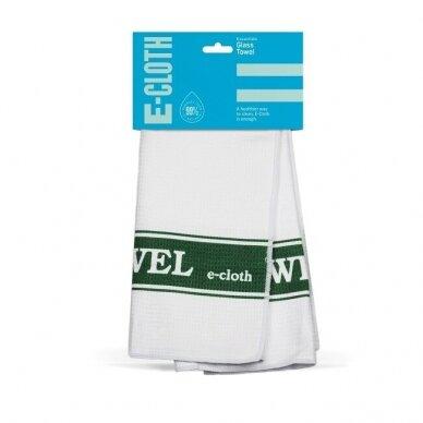 E-cloth stiklo rankšluostis