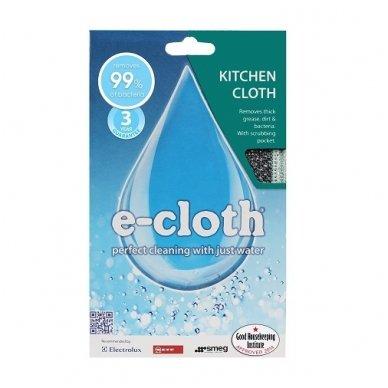 E-cloth virtuvinė šluostė su šveistuku