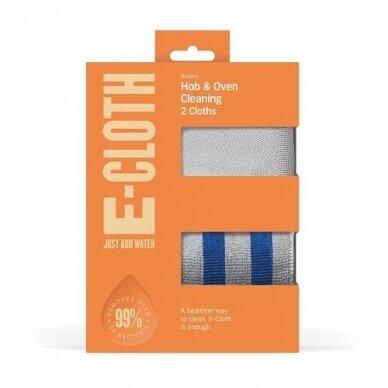 E-cloth viryklės ir orkaitės šluosčių rinkinys, 2 vnt.