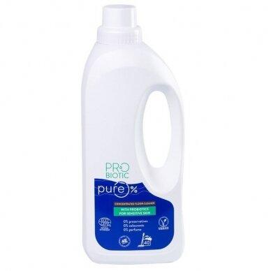 Koncentruotas grindų ploviklis su probiotikais PROBIOTIC Pure, 900 ml