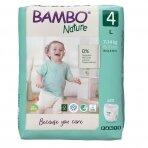 Sauskelnės - kelnaitės vaikams BAMBO NATURE 4, 7-14 kg