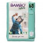Sauskelnės - kelnaitės vaikams BAMBO NATURE 5, 12-18 kg