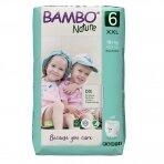 Sauskelnės - kelnaitės vaikams BAMBO NATURE 6, 18+ kg