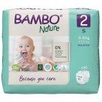 Sauskelnės vaikams BAMBO NATURE 2, 3-6 kg