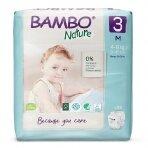 Sauskelnės vaikams BAMBO NATURE 3, 4-8 kg