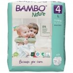 Sauskelnės vaikams BAMBO NATURE 4, 7-14 kg