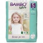Sauskelnės vaikams BAMBO NATURE 5, 12-18 kg