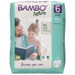 Sauskelnės vaikams BAMBO NATURE 6, 16+ kg
