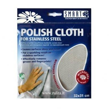 SMART POLISH CLOTH šluostė metalo paviršiams blizginti