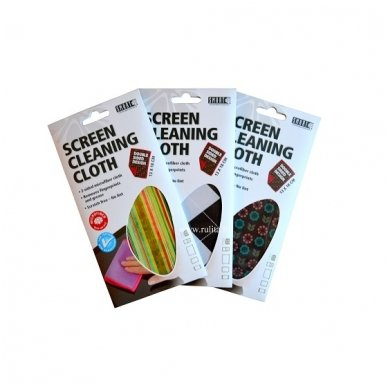 SMART SCREEN CLEANING CLOTH šluostė 2
