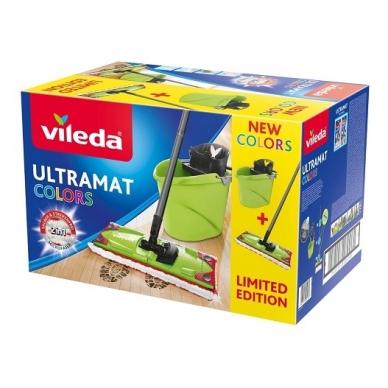 Valymo rinkinys VILEDA ULTRAMAX GREEN COLOR 4