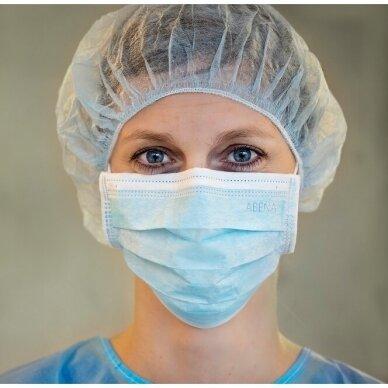 Medicininės vienkartinės veido kaukės IIR ABENA, 50 vnt. 6