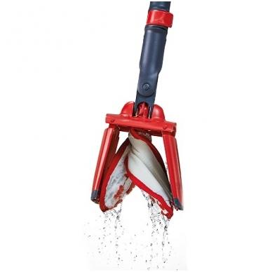 VILEDA grindų šepetys UltraMax Easy Twist Mop su nugręžimo mechanizmu 2