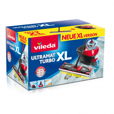VILEDA rinkinys ULTRAMAT EASY WRING TURBO XL 2