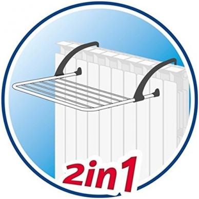 VILEDA skalbinių džiovyklė PREMIUM 2 IN 1 9